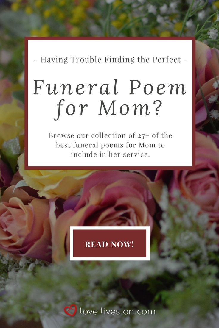 57 best funeral poems for mom images on pinterest funeral quotes 27 best funeral poems for mom izmirmasajfo Gallery