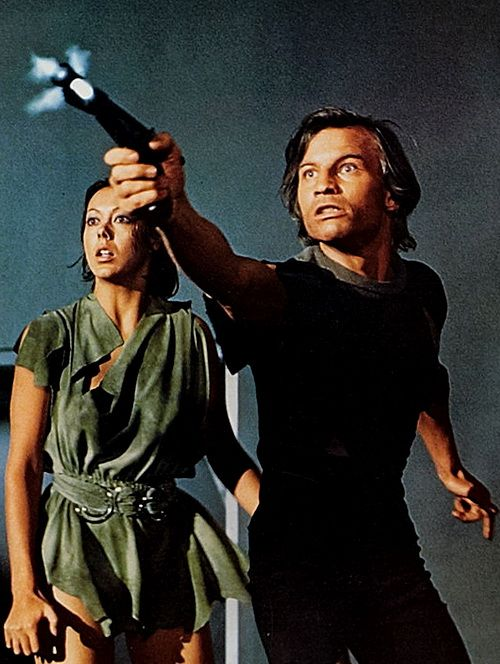 Logan's Run...the ending wends and the pacing goes all weird, but certain scenes from this movie [especially when they go off into the underground section] are large in my memories from my youth