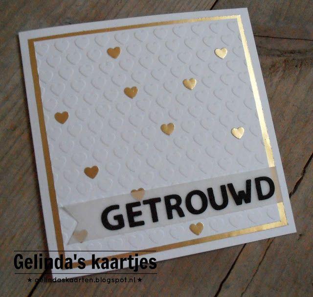 Gelinda's kaartjes: Getrouwd #3