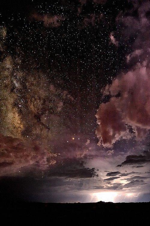 Kaibito Plateau, Arizona, USA Heavens Above, Lightning Below by Christopher Eaton