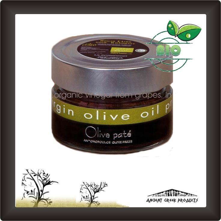Olives – gourmet taste - Olive Pate Organic var. kalamon
