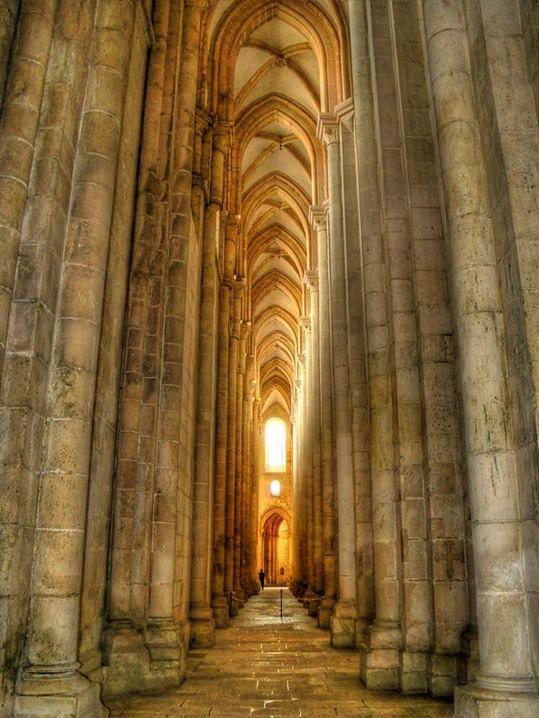 Beautiful Places...Alcobaça Monastery, Portugal, photo by José Paulo.