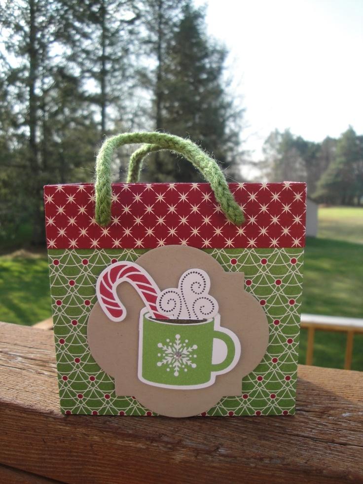 84 besten Christmas: Gift Bags Bilder auf Pinterest | Weihnachten ...