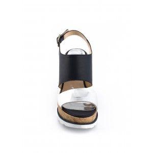 Sandale Compensée SINGRID Marine - CHAUSSURES FEMME - FEMME