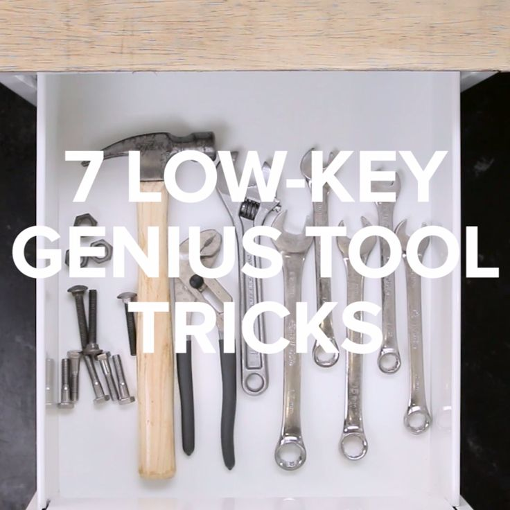 7 Low-Key Genius Tool Tricks // #tools #hacks #homehacks #Nifty