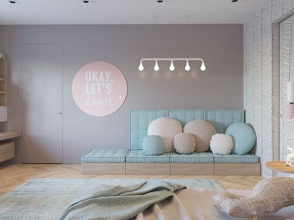 22 best Modern Kids Rooms images on Pinterest Childhood, Colors - modernes bett design trends 2012
