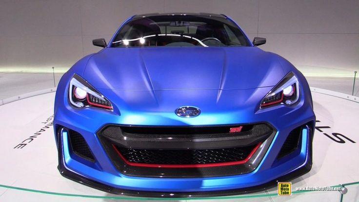 2016 Subaru Brz Sti Front Concept