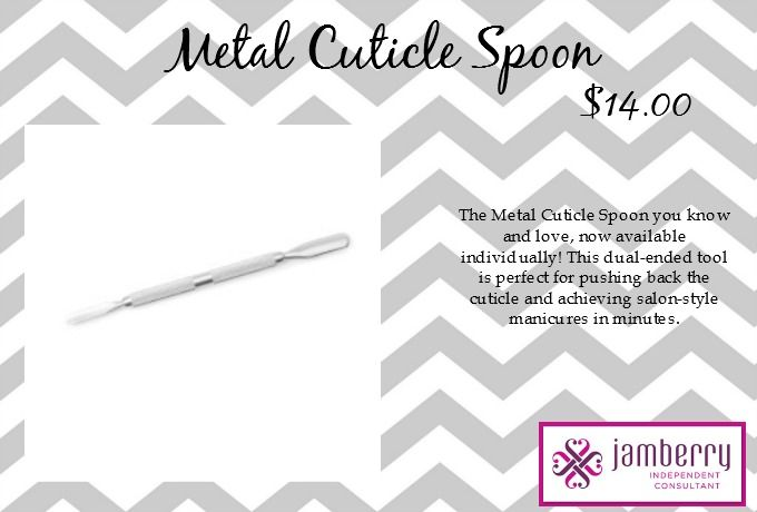 Jamberry Metal Cuticle Spoon with Australian Pricing. #Jamberry #Products #MetalCuticleSpoon #Australian #Pricing #AU