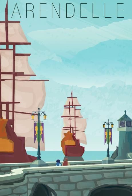 Sail your way to distant new lands...