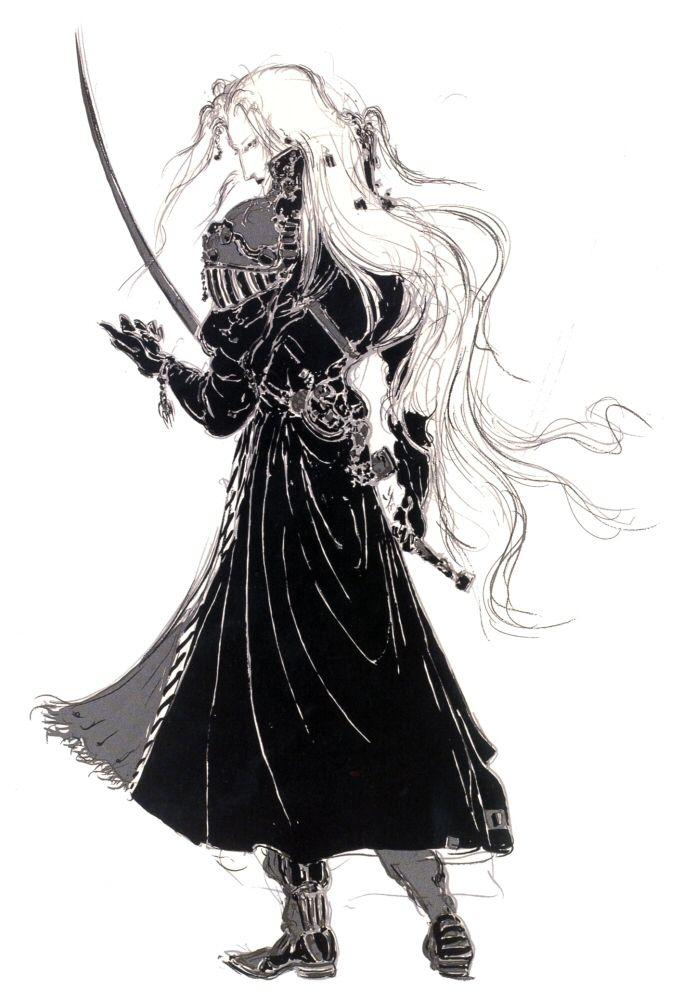 Sephiroth by Yoshitaka Amano