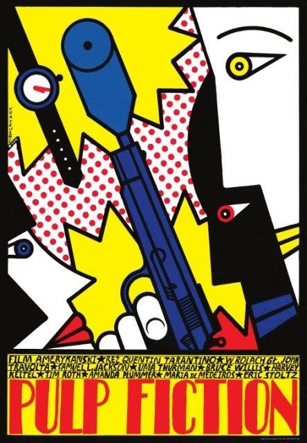 movie poster by Andrzej Krajewski