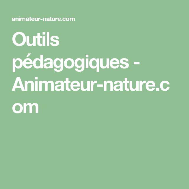 Outils pédagogiques - Animateur-nature.com
