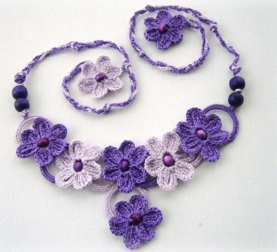 Inspiring Crochet Necklace Designs and Ideas - Life Chilli