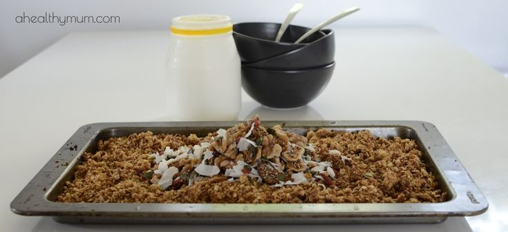 Healthy Cinnamon and Fig Gluten-Free Muesli - A Healthy Mum