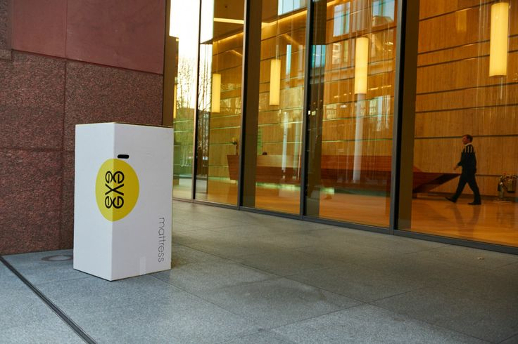Get your mattress delivered to work in one of our super-duper-clever boxes and take it home at the end of the day in a standard taxi or minicab!