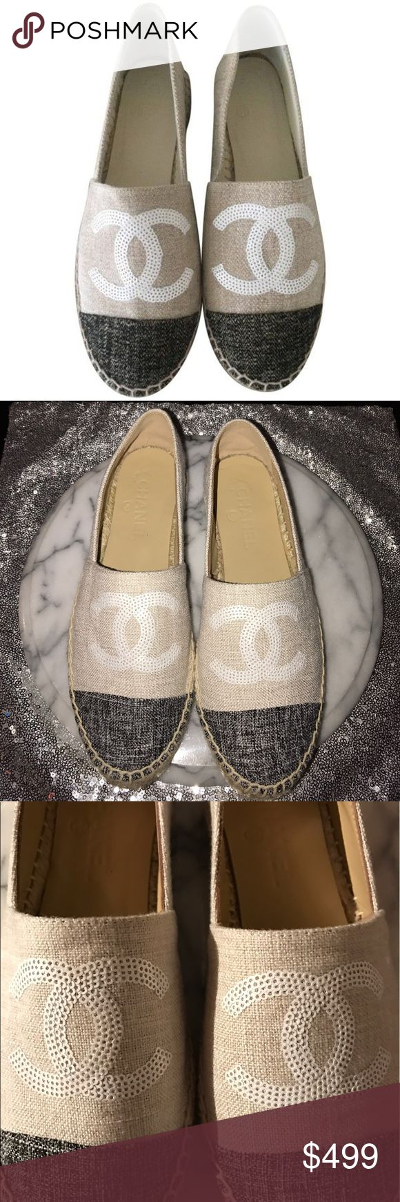 25 best ideas about chanel espadrilles price on