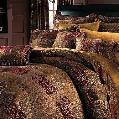 Croscill Classics 174 Catalina Red Comforter Amp More