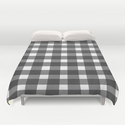 Black And White Gingham Duvet Cover Products Duvet
