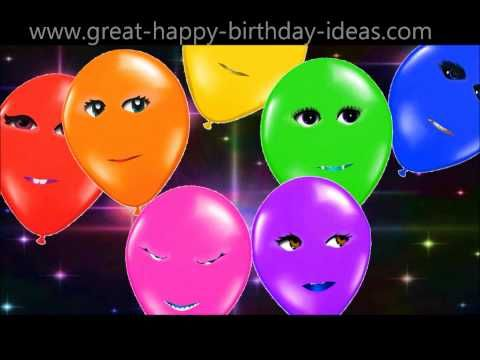 Singing Happy Birthday Balloons Especially for You