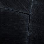 Bez tytułu, akryl, płótno 40x40, 2013 Obraz wystawiany: Linia / Płaszczyzna…