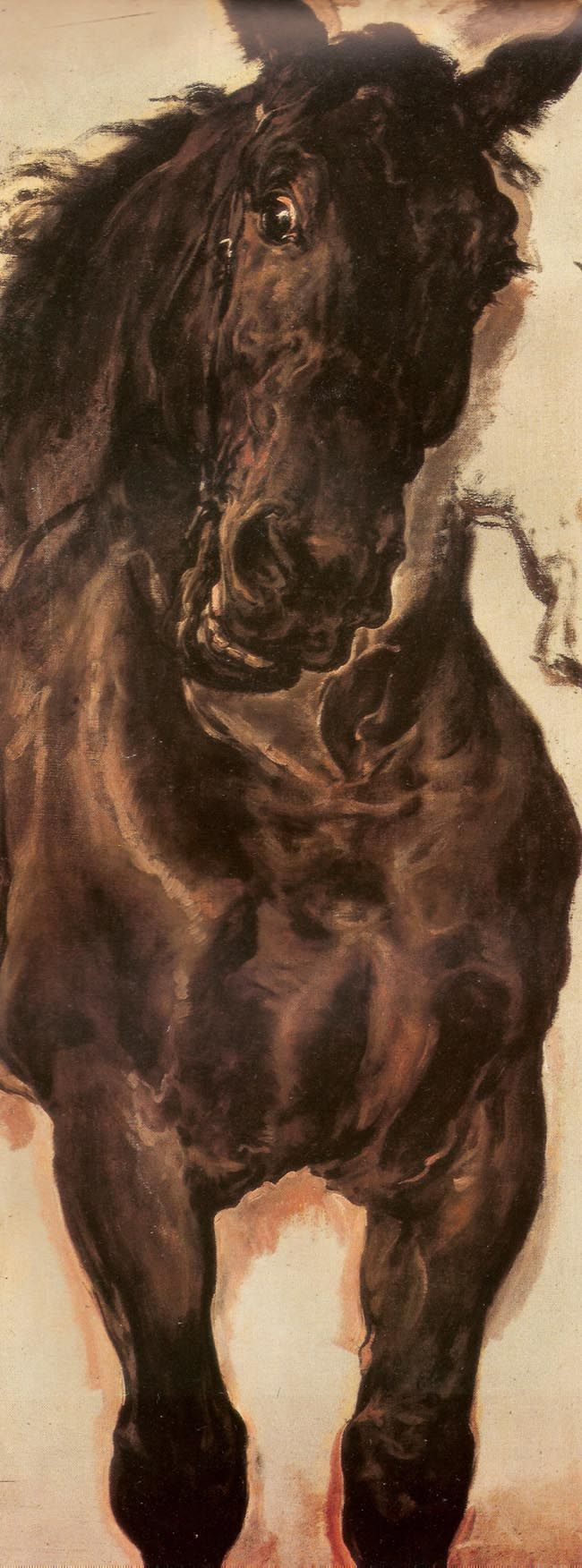 Jan Matejko (Polish, 1838-1893) - Horse Study, 1875 - National Museum, Warsaw
