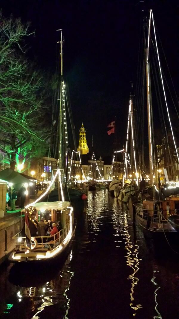 Christmas in Groningen, The Netherlands.