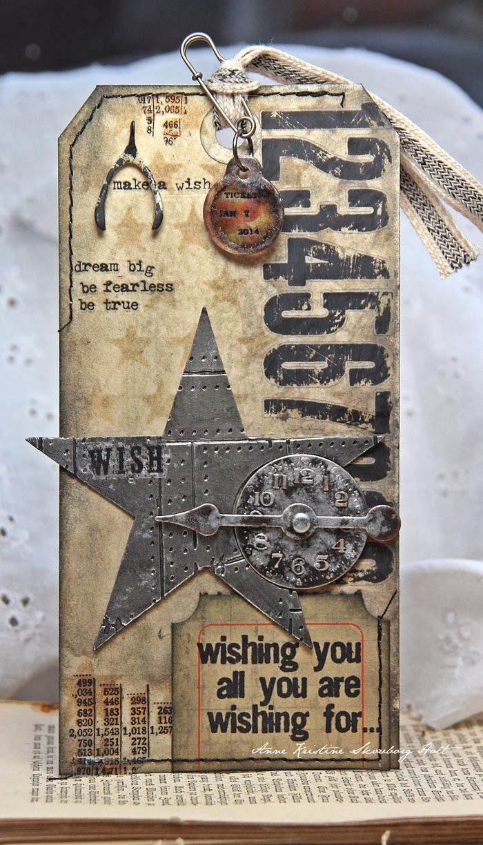 Anne's paper fun: 12 tags of 2014 - january