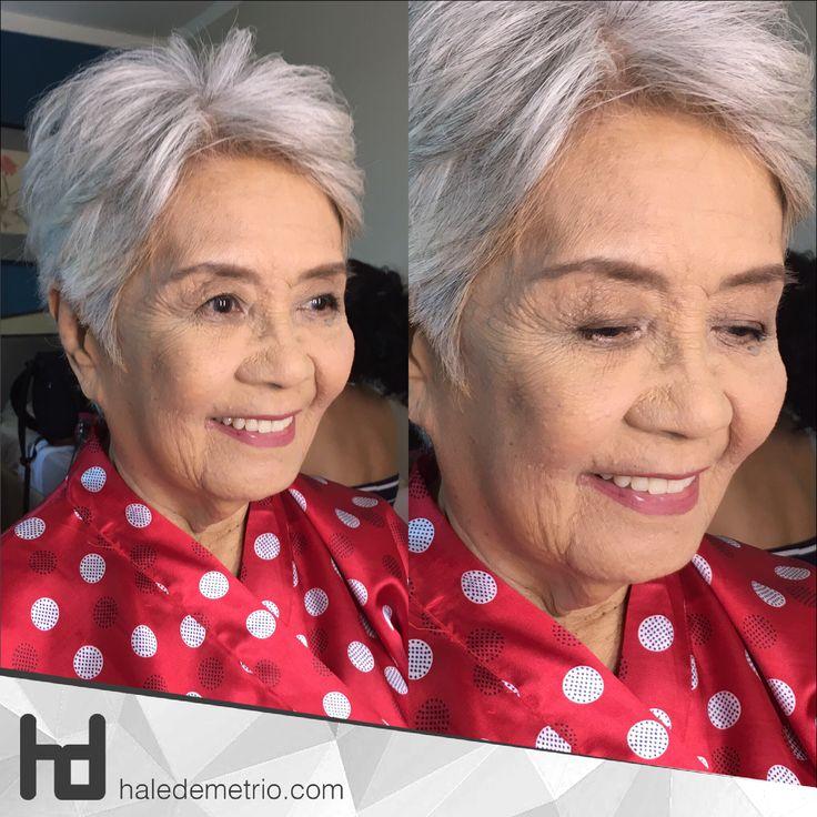 """...It feels like the first time, Hale..."" as Mrs. Lily said in excitement while I'm doing her bridal makeup for her Diamond Wedding Anniversary 😊  Special thanks to Lai Legara for entrusting her grandma's look 😘❤️  #HaleDemetrio #HD #hdmakeup #hairandmakeup #artist #CDO #bukidnon #maccosmetics #urbandecay #nakedbasic #sephora #stilacosmetics #rcma #neutralmakeup #neutraleyeshadow #coral #bridalmakeup #bridalglow #filipina #beauty #diamondweddinganniversary"