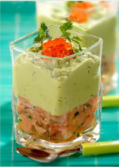 Salmon and Avocado Mousse