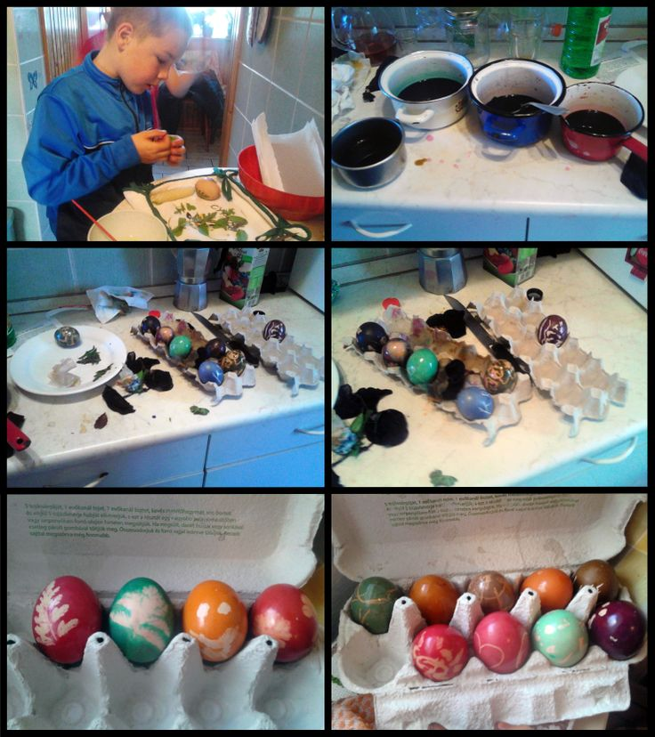 eater egg painting with kids :)