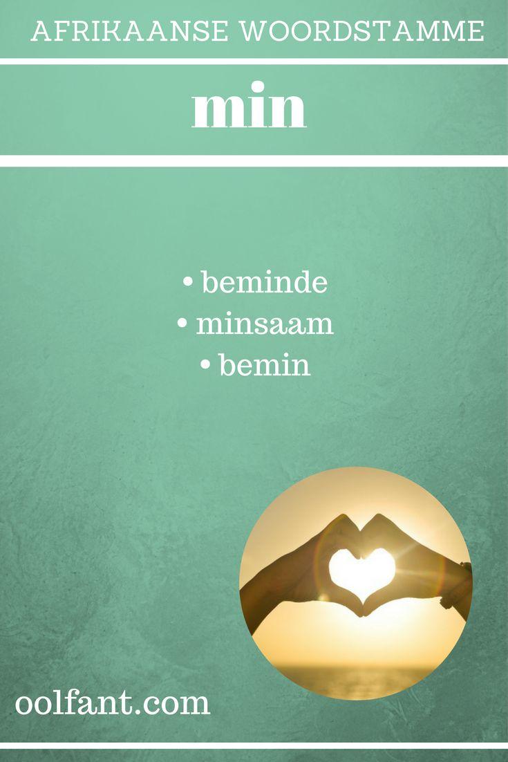 As mens woorde se stamme kan eien, help dit baie met spelling en woordeskat. Tegniek gebruik in 15-Minuut-Afrikaans.