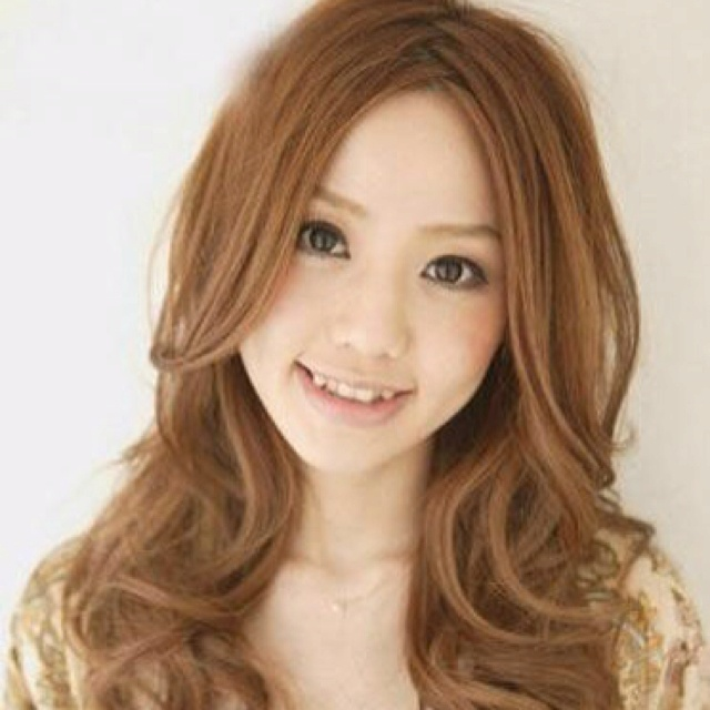 Best Curly Style Hair For A Round Face Japanese Perm