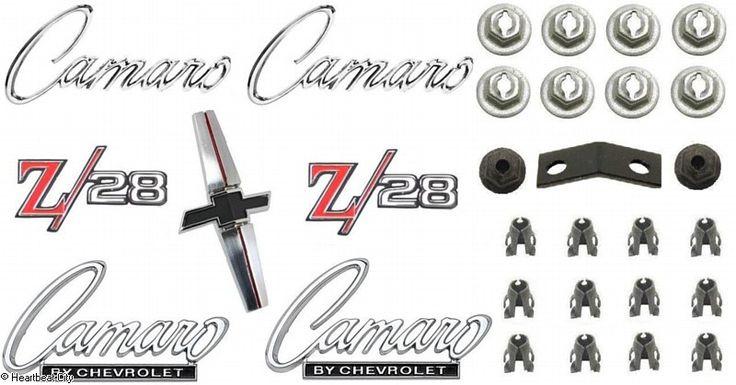 camaro emblem kit z  28 1968  149 95