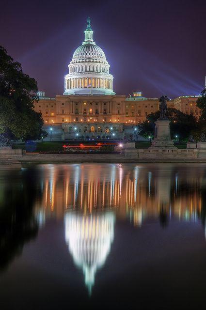 United States Capitol; photo by .vtgohokies
