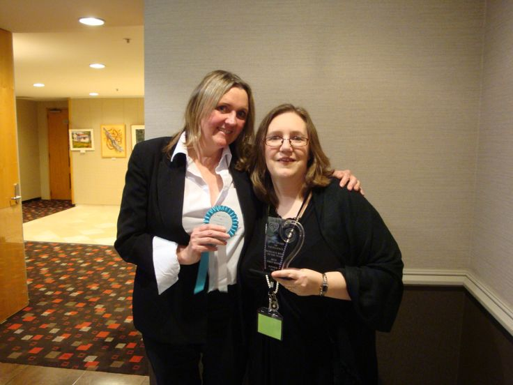 #RWNZ2014 Awards Dinner: Authors Joanne Hill and Tracey Alvarez