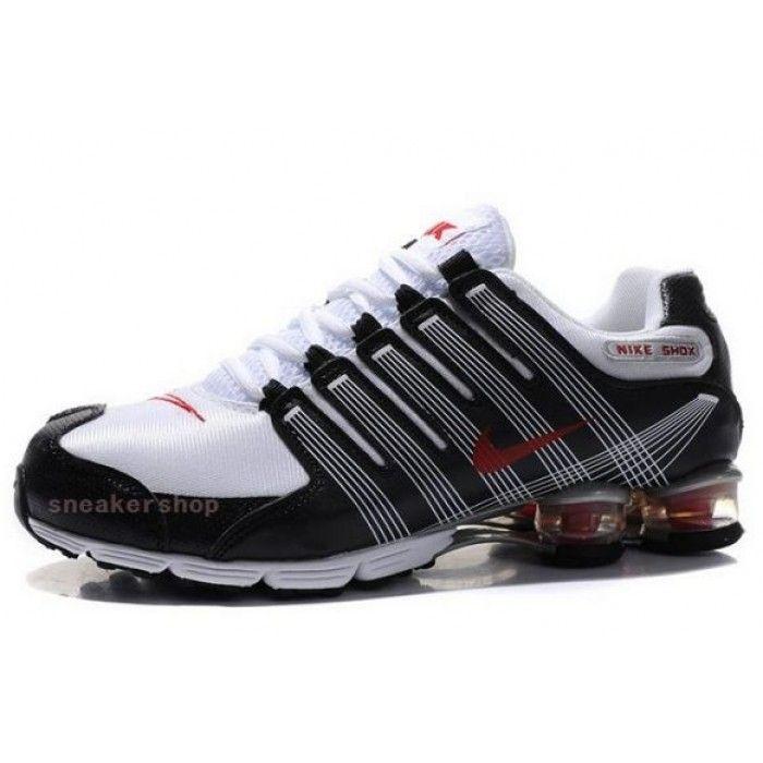 #Nike #sports Nike Air Max Shoes, Nike Mens Shoes Buy Nike Shox NZ 2.0 Black White Red 69