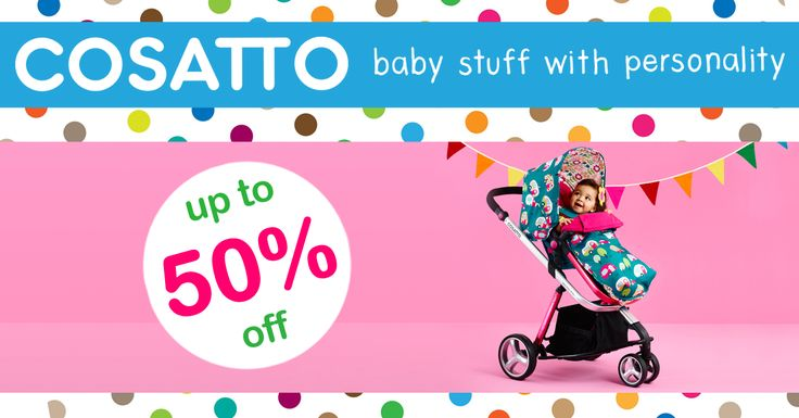 The 50% OFF Cosatto Pram Sale Now On!