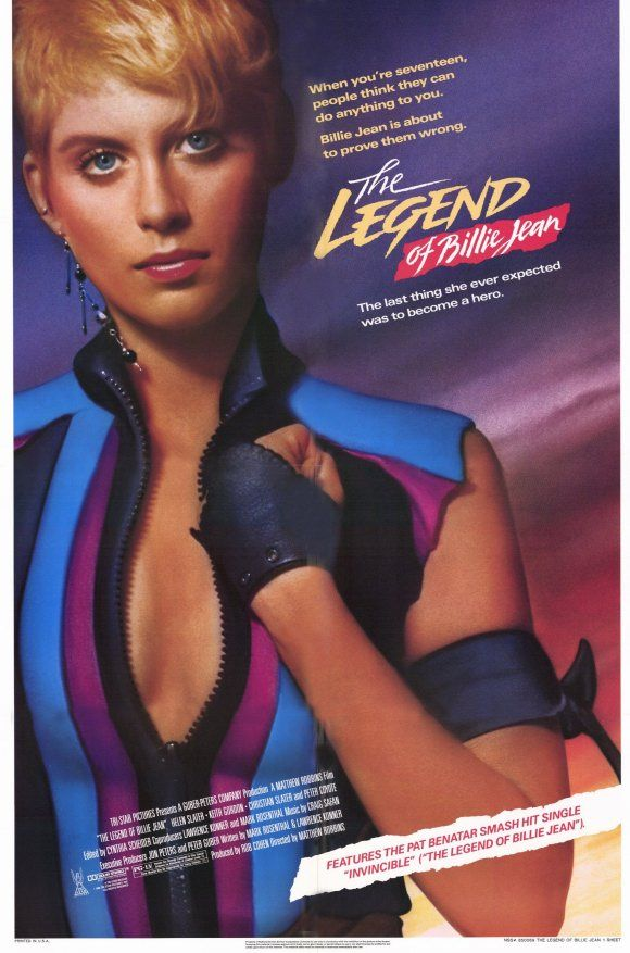 The Legend of Billy Jean (1985) - 3/5 hot 80s babes