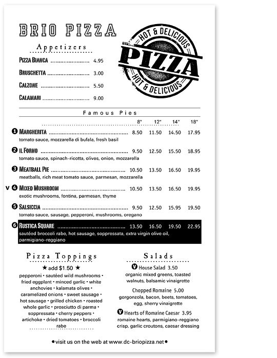 ... 10 Best Pizza Menus Images On Pinterest Pizza Menu Design   How To Make  A Restaurant ...  How To Make A Restaurant Menu On Microsoft Word