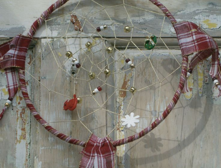 """""""Christmas Plaide"""" Non Traditional Style OOAK Created before 2008 SOLD Maybe Re-creatable"""