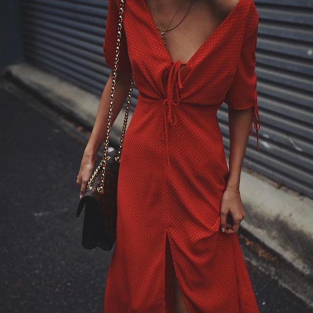 polka dots & red , seriously feeling @topshop_au new season dresses  #topshopau