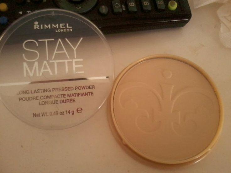 RS beauty blog: Rimmel stay matte powder (review)
