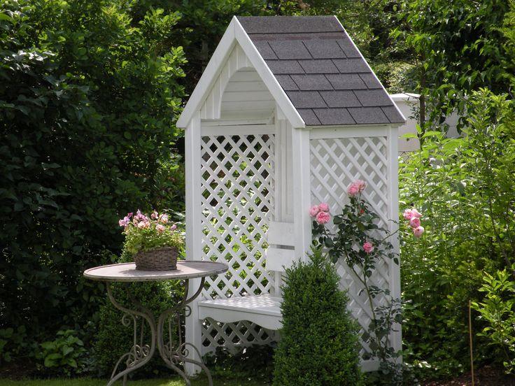 Amazing Philosophenbank mit Rose Giardina Wohnen und Garten Foto