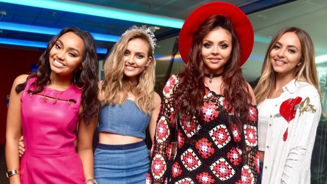 Little Mix: 'We've grown a thick skin' over criticism - BBC News