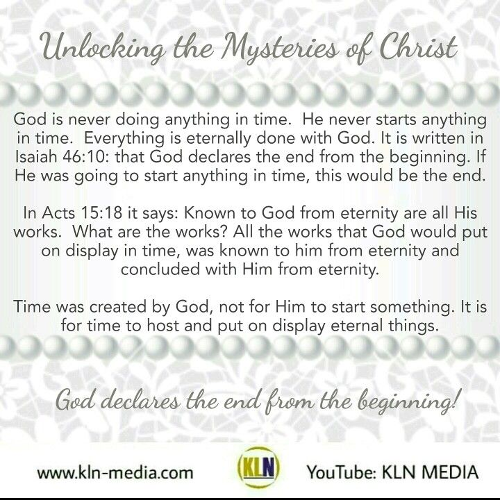 Kingdom Living Now  Time was created to host what was already finished in eternity.  Here are the links to last nights tapings from our Q & A -  Unlocking the Mysteries of Christ. Tune in! https://youtu.be/Au79ieuzL6E https://youtu.be/nYMYO61Eb3M  #kingdomofGod #klnmedia #Christ #God #HolySpirit #Jesus #Father #son #PastorSomers  #shalom #youtube #church #life #igdaily #questions #knowledge #world #Matthew633 #northamerica #southamerica #carribean #asia #europe #africa #australia #antartica…