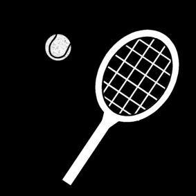 Pictogram: tennis