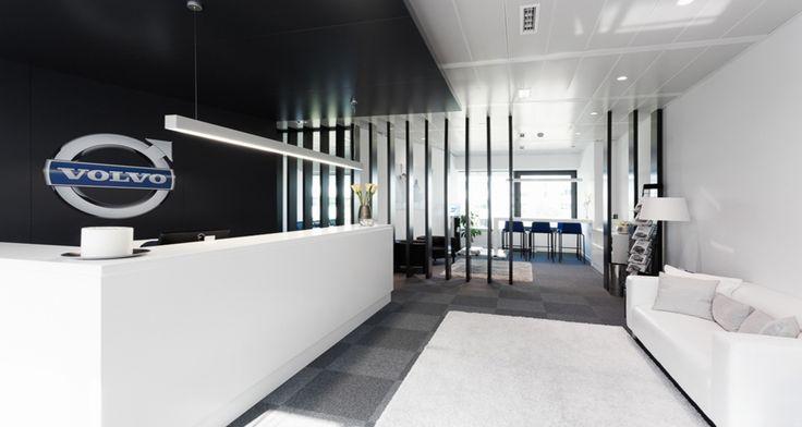 Recepção nos escritórios da Volvo em Lisboa, Portugal