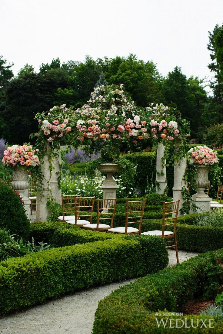 Beautiful Garden Wedding Ideas: WedLuxe – Babylon In Bloom