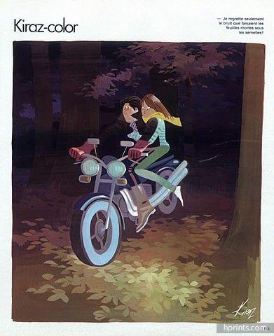 Edmond Kiraz 1978 Motorcyclists