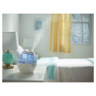Vicks Mini Filter Free Ultrasonic Cool Mist Humidifier, White